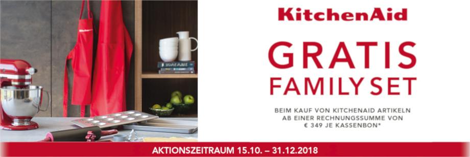 GRATIS KitchenAid Family Set