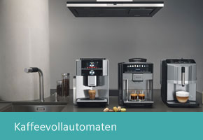 Siemens studioLine Kaffevollautomaten und Wärmeschubladen