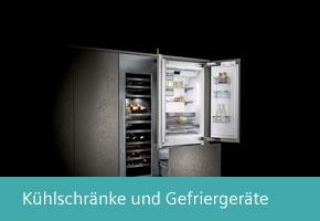 Siemens studioLine Kühlschränke und Gefriergeräte