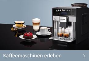 Siemens Kaffeemaschinen erleben