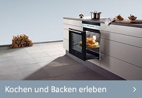 Siemens Kochen und Backen erleben