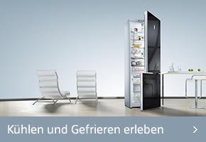 Siemens Kühlen und Gefrieren erleben