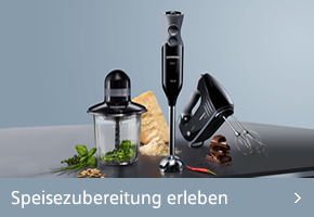 Siemens Küchenmaschinen erleben