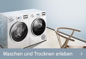 Siemens Waschen und Trocknen erleben