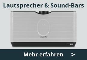 TechniSat Lautsprecher & Sound-Bars erleben